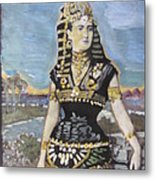 Cleopatra The Last Pharoah Of Egypt Metal Print