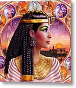 Cleopatra Variant 3 Metal Print