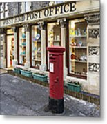 Clevedon West End Post Office Metal Print