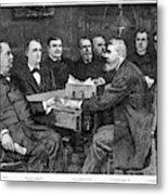 Cleveland Cabinet, 1893 Metal Print