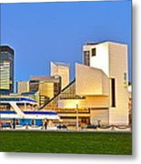 Cleveland Icons Metal Print