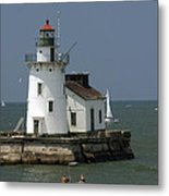 Cleveland Lighthouse Metal Print