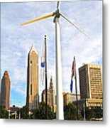 Cleveland Ohio Science Center Metal Print