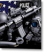 Cleveland Police Metal Print