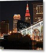 Cleveland Up Close Metal Print