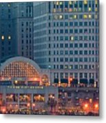 Clevelands Tower City Metal Print