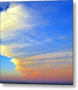 Click #5 From A Rest Stop On The Chesapeake Bay Bridge Tunnel Metal Print