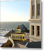 Cliff House Giant Camera Metal Print