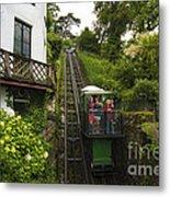 Cliff Railway  Metal Print
