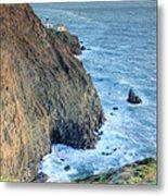 Cliffs Metal Print by JC Findley