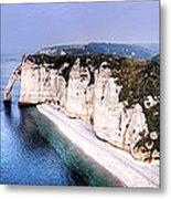 Cliffs Of Etretat 1 Metal Print
