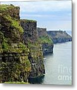 Cliffs Of Moher 7266 Metal Print