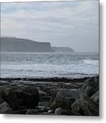 Cliffs Of Moher Ireland Metal Print