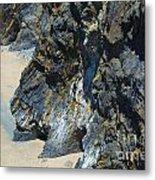 Cliffs Of Pembrokeshire Metal Print