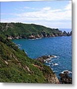 Cliffs On Isle Of Guernsey Metal Print