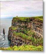 #cliffsofmoher #ireland #landscape Metal Print