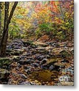 Clifty Creek In Hdr Metal Print by Paul Mashburn