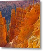 climbing out of the Canyon Metal Print