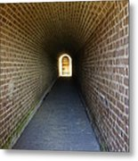 Clinch Hall Metal Print