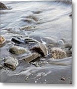 Clinging To The Shore Metal Print