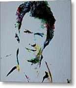 Clint Eastwood 2 Metal Print