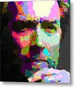 Clint Eastwood - Abstract Metal Print