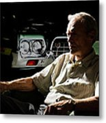 Clint Eastwood As Walt Kowalski In The Film Grand Torino - Clint Eastwood - 2008 Metal Print