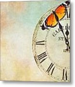 Clock Five To Twelve Metal Print