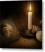 Clock - Memories Eternal Metal Print by Mike Savad