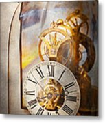 Clockmaker - A Look Back In Time Metal Print