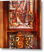 Clockmaker - An Ornate Clock Metal Print