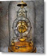 Clocksmith - The Time Capsule Metal Print by Mike Savad