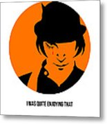 Clockwork Orange Poster 1 Metal Print