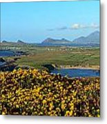 Clogher Beach And The Three Sisters Metal Print