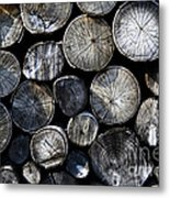 Clogs Metal Print