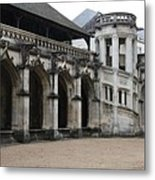 Cloister And Staircase Cathedral Tours Metal Print