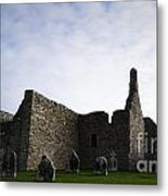 Clonmacnoise Cathedral Metal Print