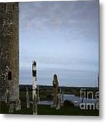 Clonmacnoise On The River Shannon Metal Print