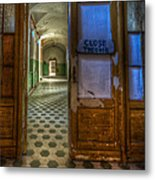 Close The Door Metal Print