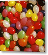 Close Up Of Jelly Beans Metal Print