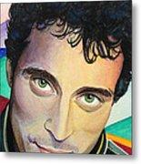 Close Up Portrait Rufus Sewell Metal Print