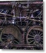 Close Up Train 1 Metal Print
