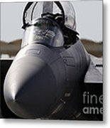 Close-up View Of A F-15c Eagle Metal Print
