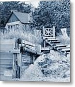 Closed For The Season Revisited Silver Version Metal Print