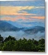 Closer To Heaven In The Blue Ridge Mountains Metal Print