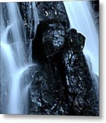 Closeup Waterfall Metal Print