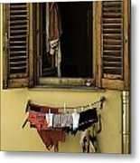 Clothes Dryer Metal Print
