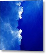 Cloud 50 50 Metal Print