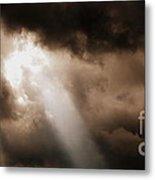 Cloud Break Metal Print