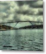 Cloud Bridge Metal Print